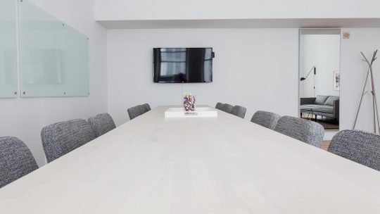 Vergaderen doe je op een juiste locatie